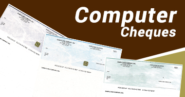 computer cheques